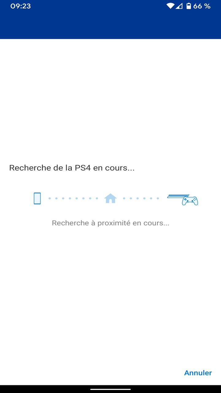 Remote Play et Dual Shock 4 : recherche de la PS4