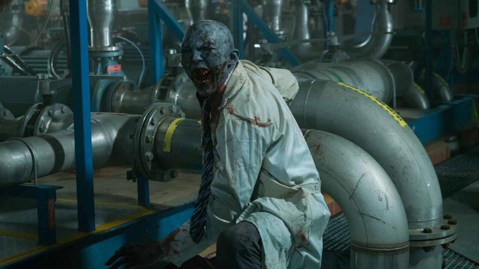 DOOM Annihilation zombie-alien