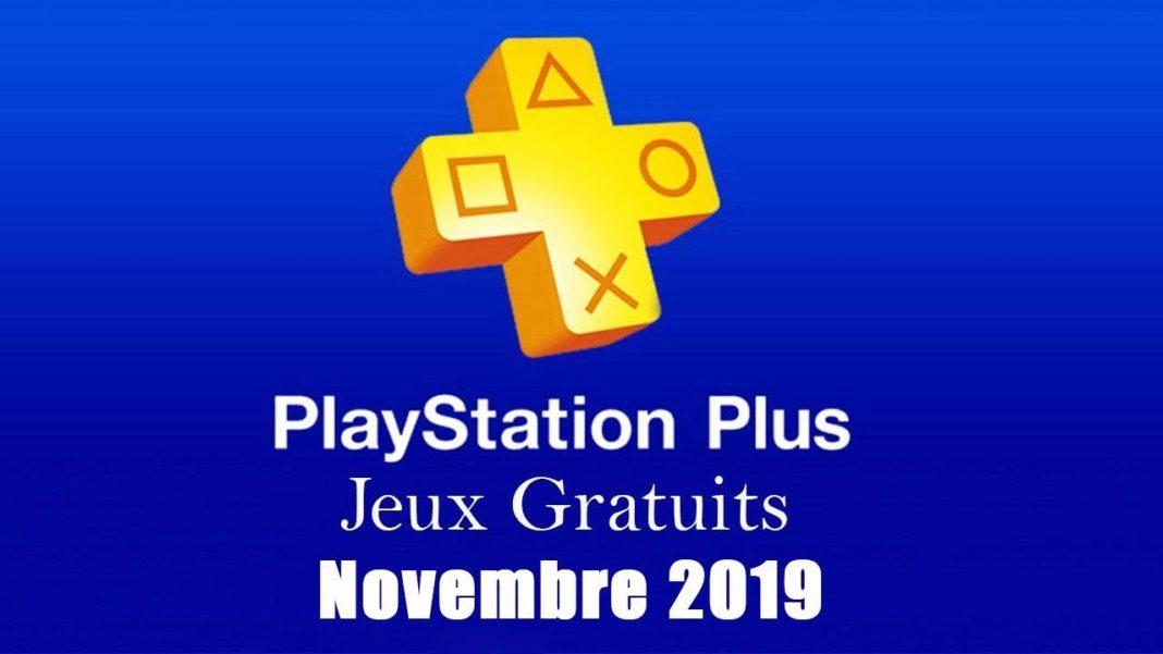 jeux offerts du mois de novembre 2019 ps+