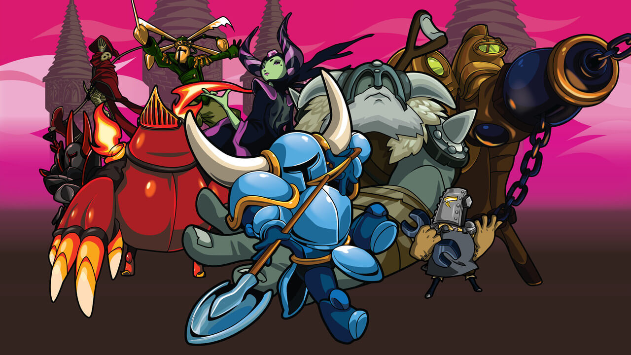 Shovel Knight : Artwork des différents protagonistes
