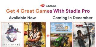 Stadia jeux gratuits