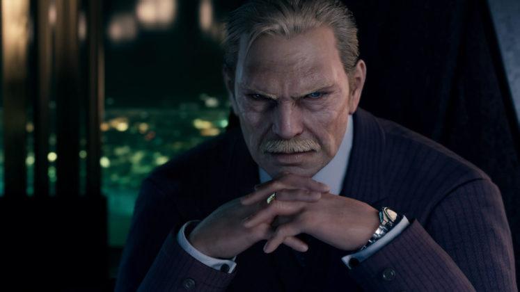 Président Shinra Final Fantasy VII remake