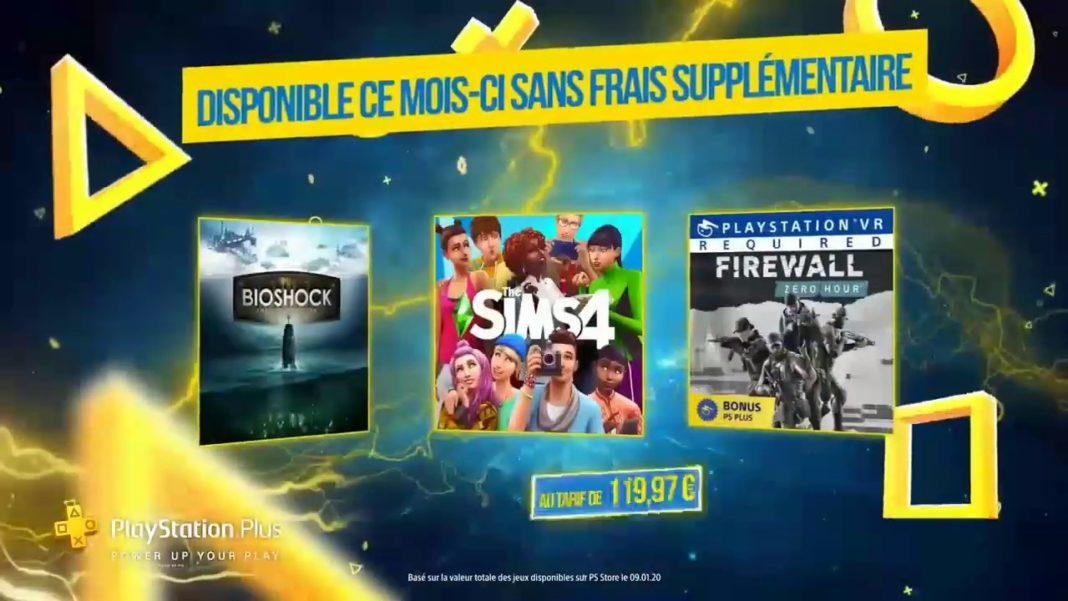 PS Plus 5 jeux offerts février 2020