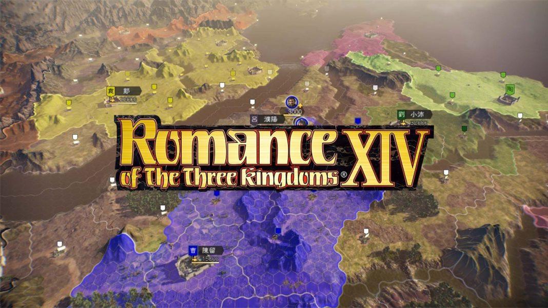 Sortie Européenne Romance of the Three Kingdoms XIV