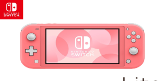 Switch Lite Rose