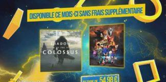 Offre PS+ des jeux offerts de mars 2020