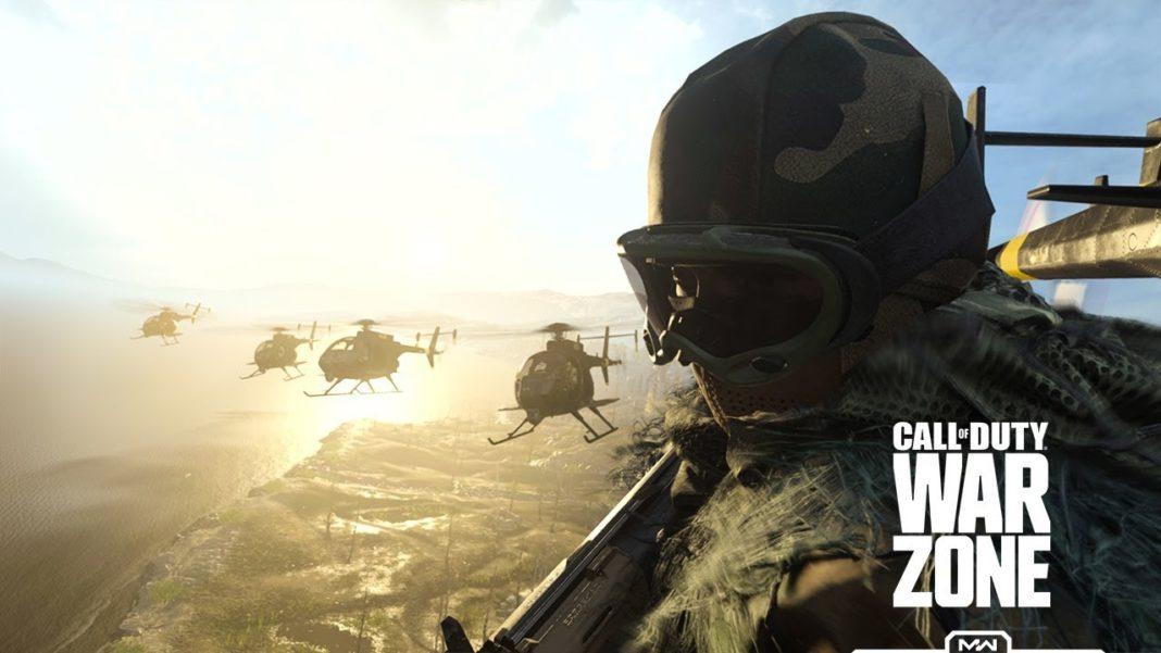Lancement de Call of Duty Warzone
