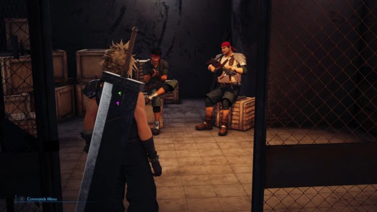 Coulisses Final Fantasy VII Remake
