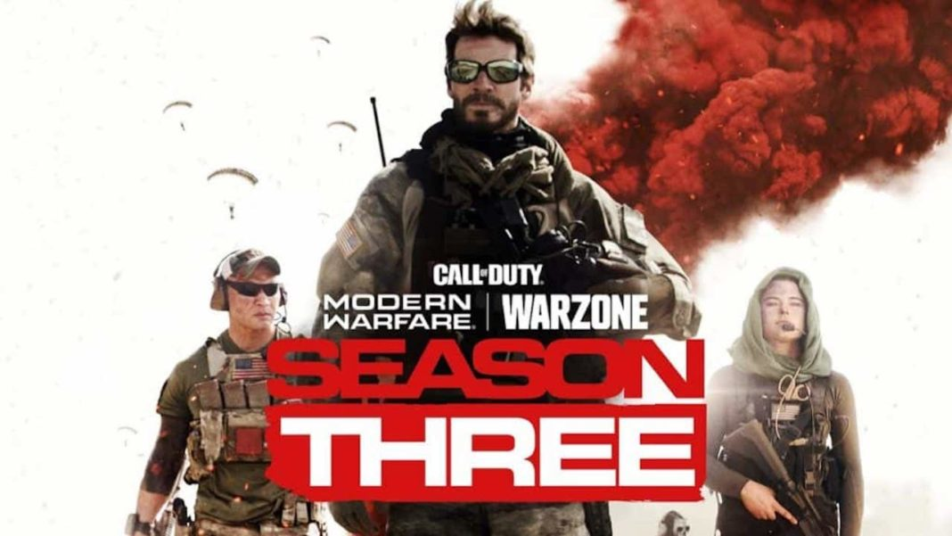 Lancement Saison 3 Call of Duty Modern Warfare