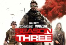 Lancement Saison 3 Call of Duty Modern Warfare