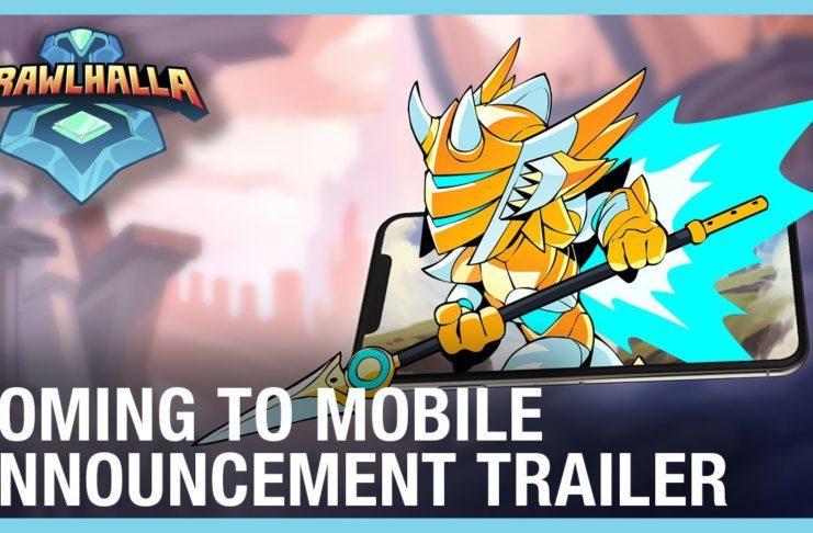 Annonce sur mobile de Brawlhalla