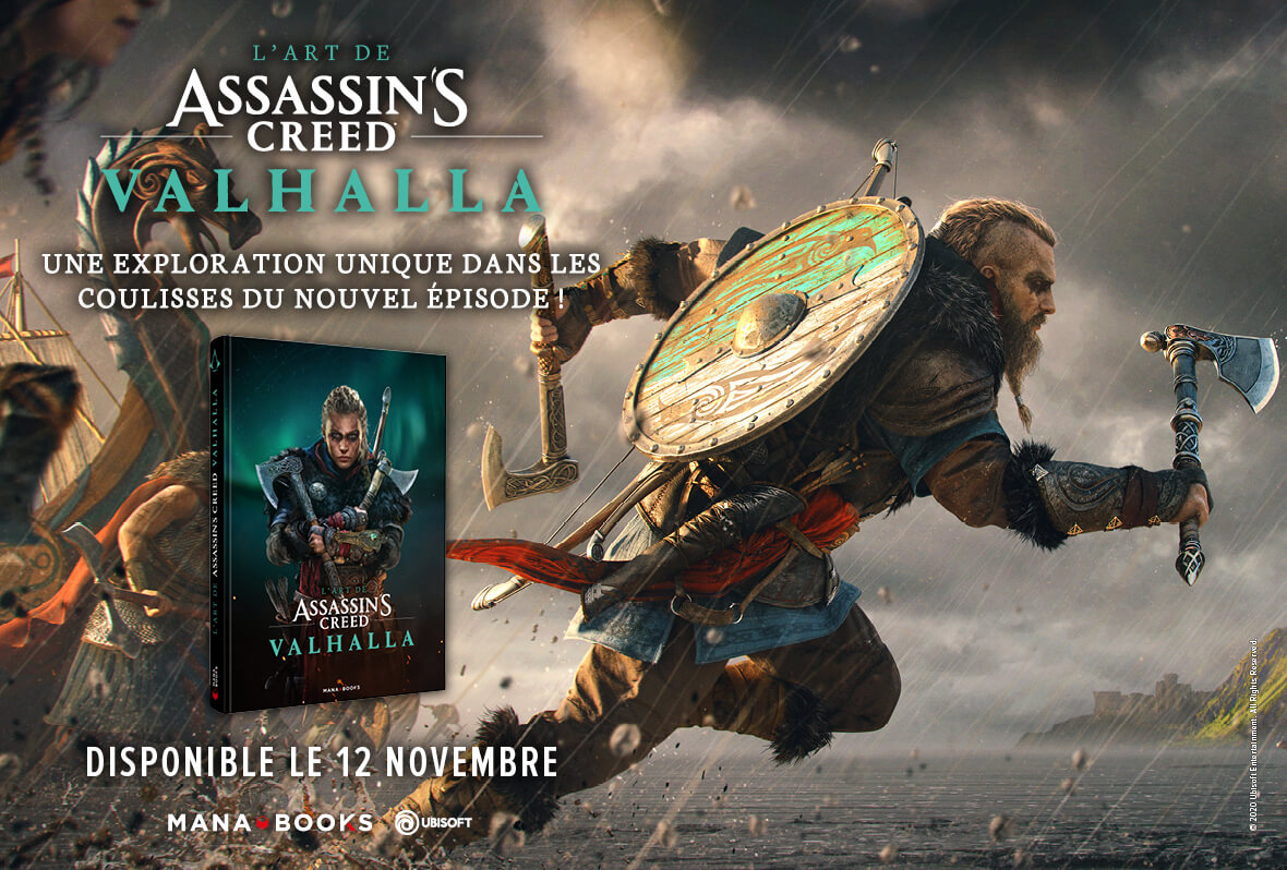 Assassin's Creed Valhalla Art Book