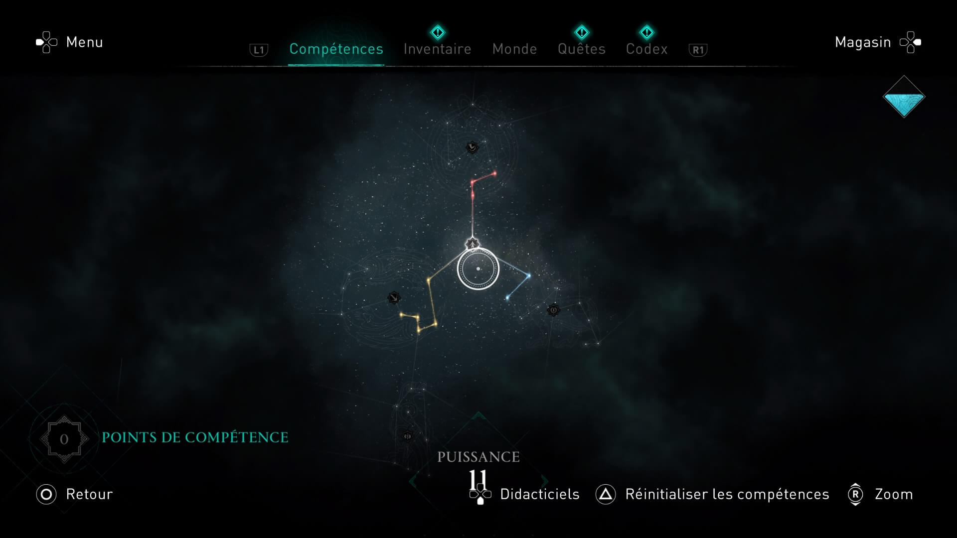 Compétences Assassin's Creed Valhalla