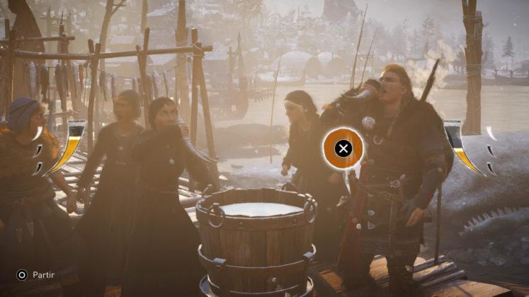 Assassin's Creed Valhalla Le rythme est primordiale