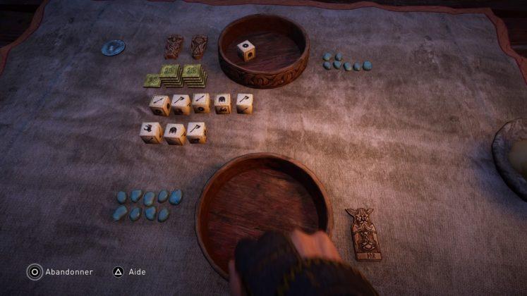 Assassin's Creed Valhalla Un mini jeu
