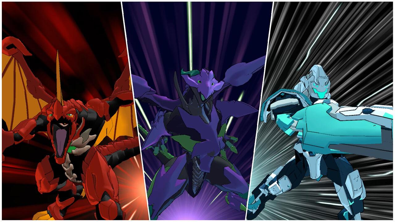 Exemples de Bakugan