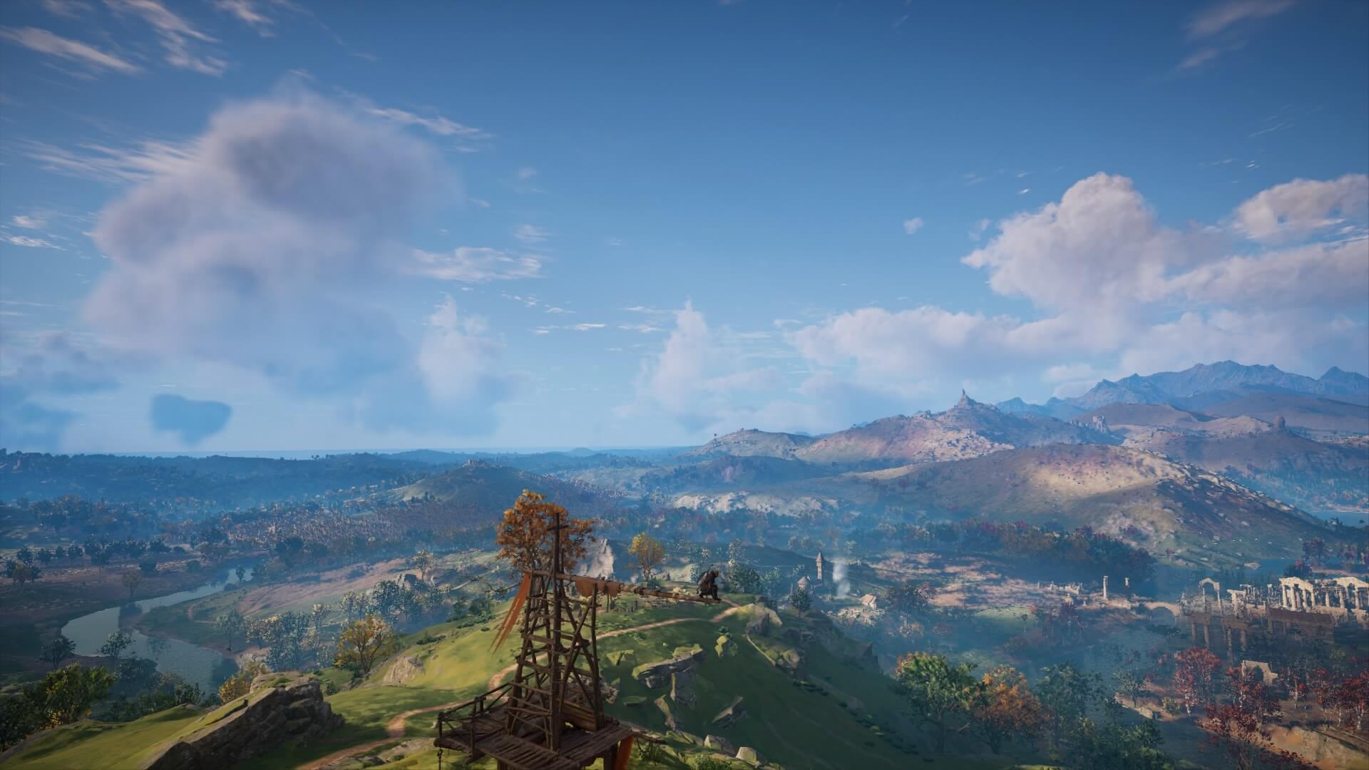 Paysage Assassin's Creed Valhalla