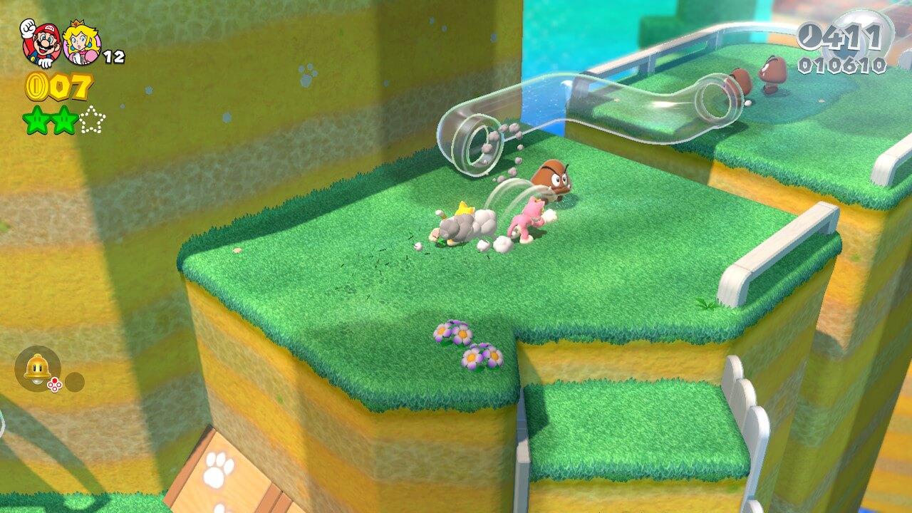 Niveau Super Mario