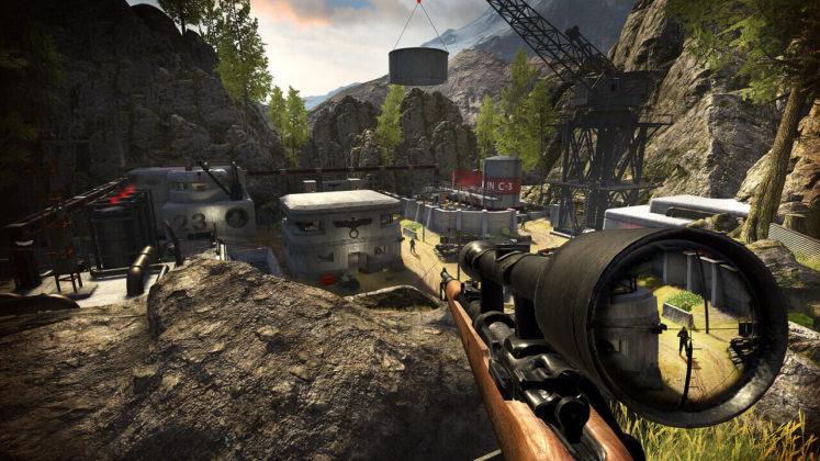 Sniper Elite VR - Environnement