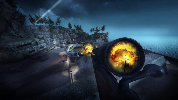 Sniper Elite VR - Explosion