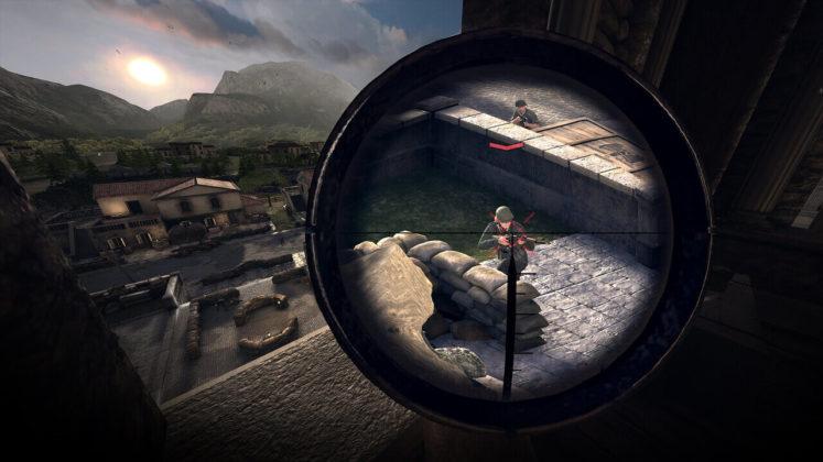Sniper Elite VR - Visé