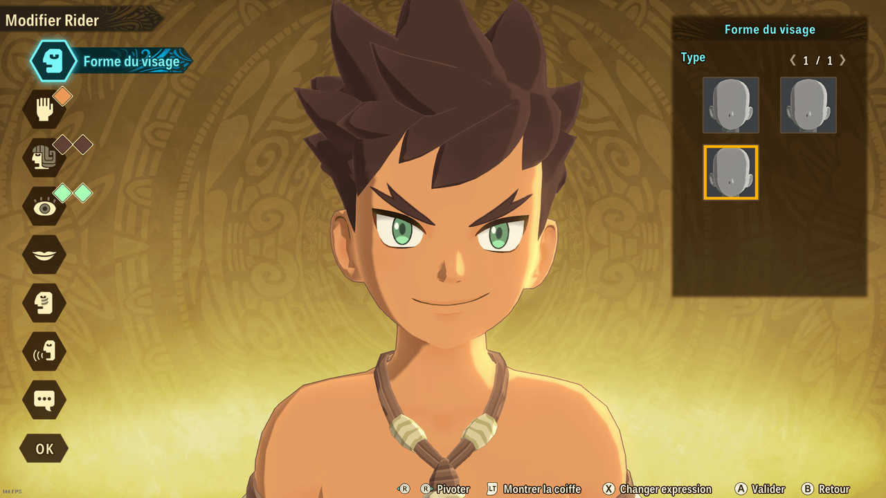 Monster Hunter Stories 2 - Création personnage